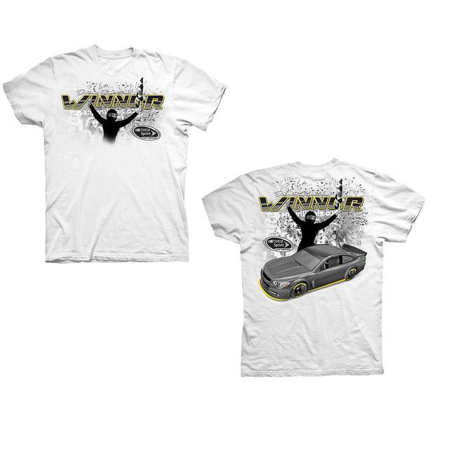 Jimmie Johnson #48 2016 QUIKTRIP 500 Victory T-shirt
