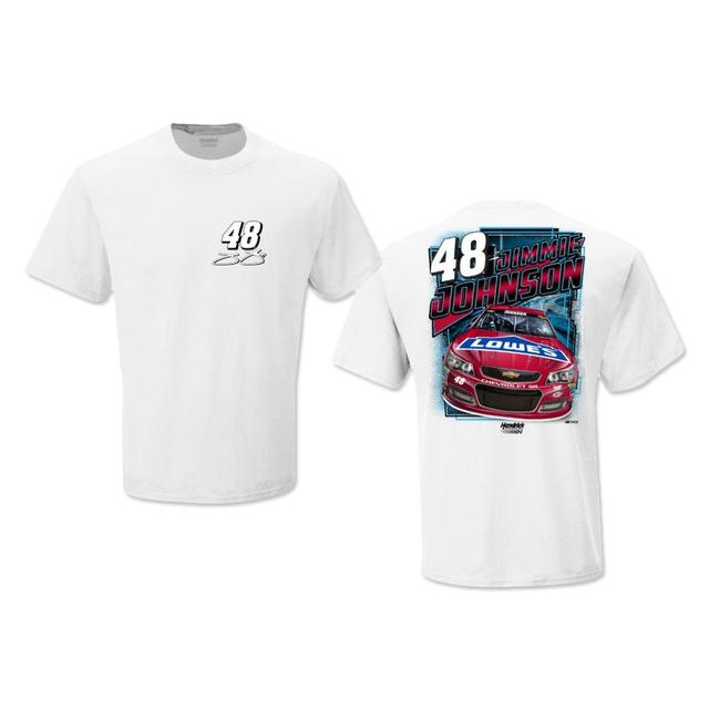 Jimmie Johnson #48 Lowe's Red Vest T-Shirt