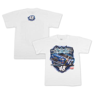 Jimmie Johnson Jimmie  #48 Backstretch T-Shirt