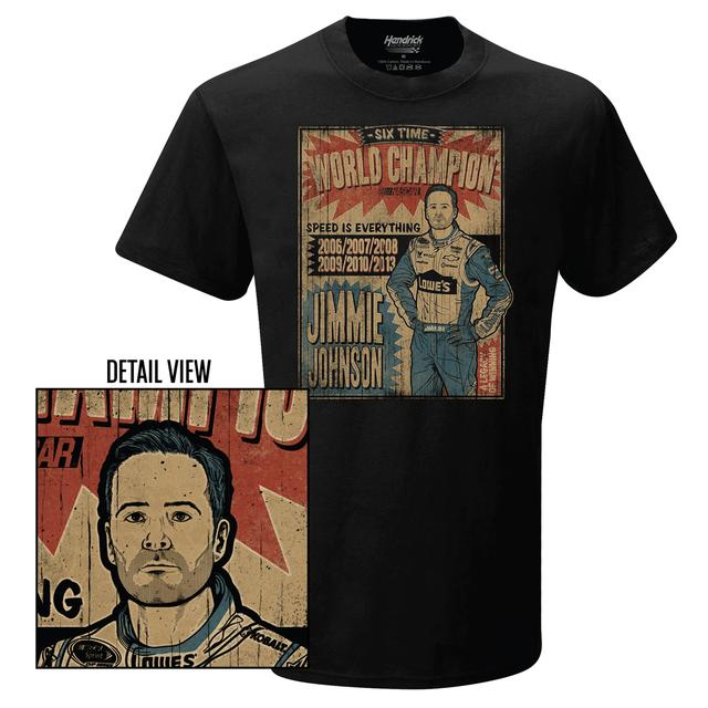 Jimmie Johnson #48 World Champ T-Shirt