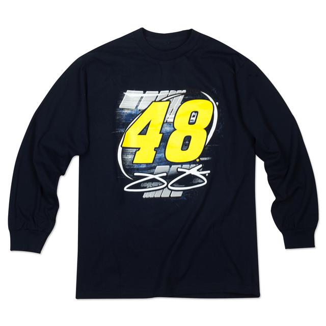 Jimmie Johnson #48 Vortex L/S T-Shirt