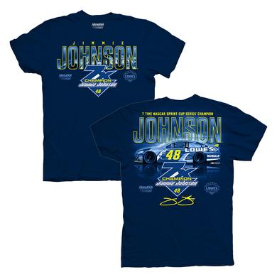 Jimmie Johnson 7x NASCAR Champ T-shirt - EXCLUSIVE