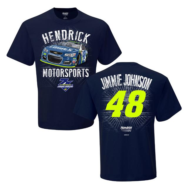 Jimmie Johnson Adult Speedbolt 2-spot T-shirt - Lowe's