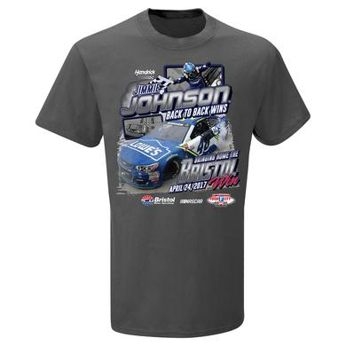 Jimmie Johnson #48 2017 BRISTOL Win T-shirt