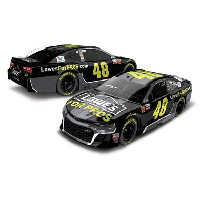 Jimmie Johnson 2018 NASCAR Cup Series No. 48 Lowes ELITE 1:24 Die-Cast