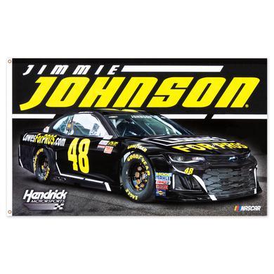 Jimmie Johnson #48 2018 NASCAR 2-sided Flag - 3' x 5'