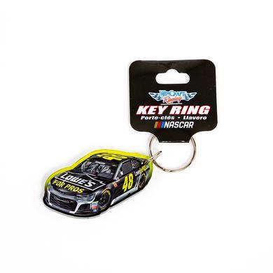 Jimmie Johnson #48 2018 NASCAR Car Acrylic Keyring