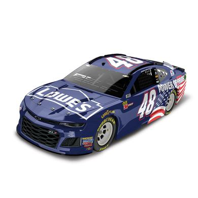 Jimmie Johnson 2018 NASCAR Lowe's Power of Pride Elite 1:24 Die-Cast