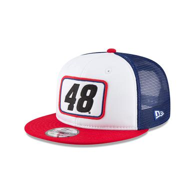 Jimmie Johnson 2018 #48 Team Pride Trucker NEW ERA 9FIFTY Cap