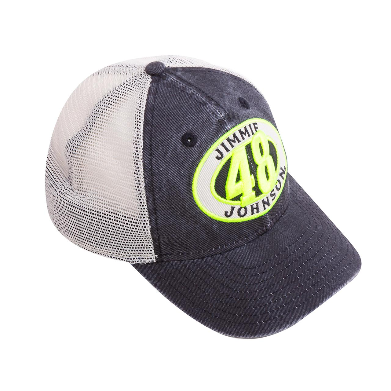 Jimmie Johnson  48 2018 NASCAR New Era 920 Patched Pride Lowes Youth Hat f783d8b5629