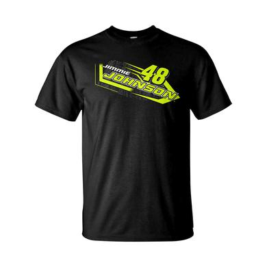 Jimmie Johnson #48 2018 NASCAR Fluorescent T-shirt