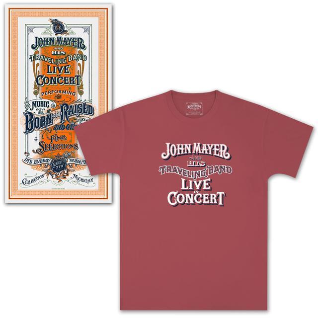 John Mayer Clarkston, MI Event Combo