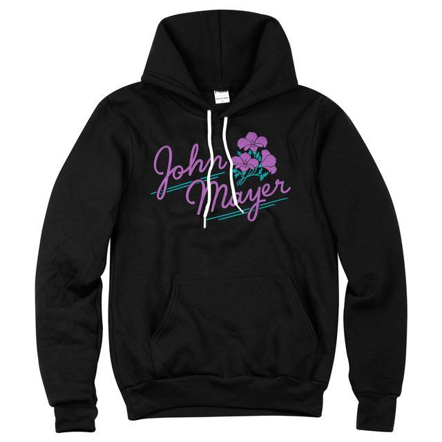 John Mayer Flower Pullover Hoodie