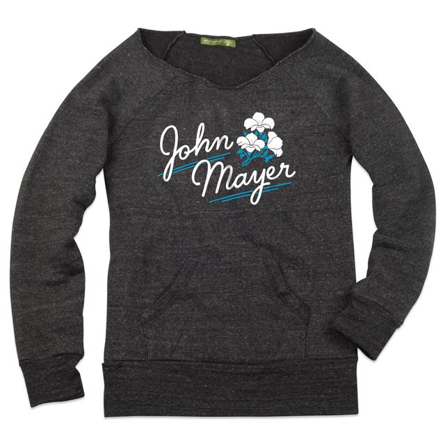 John Mayer Flower Boatneck Fleece