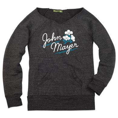 John Mayer Flower Boatneck Fleece