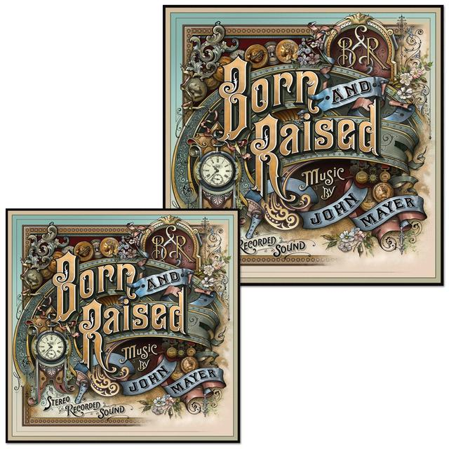 John Mayer Born and Raised Vinyl Sticker Set