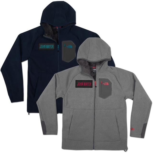 John Mayer The North Face - Couloir Full Zip Hoodie with JM logo
