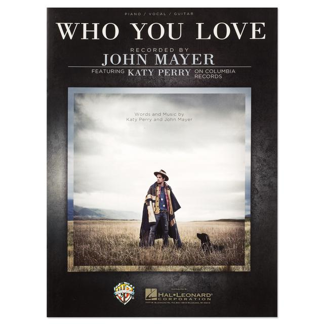 "John Mayer ""Who You Love"" Sheet Music Book"