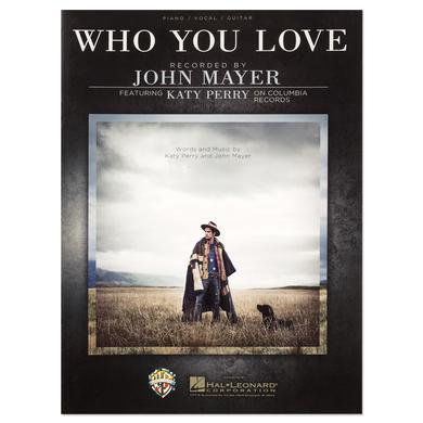 """John Mayer """"Who You Love"""" Sheet Music Book"""