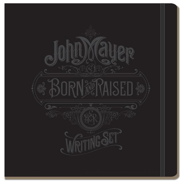 John Mayer Born and Raised Writing Set by Moleskine