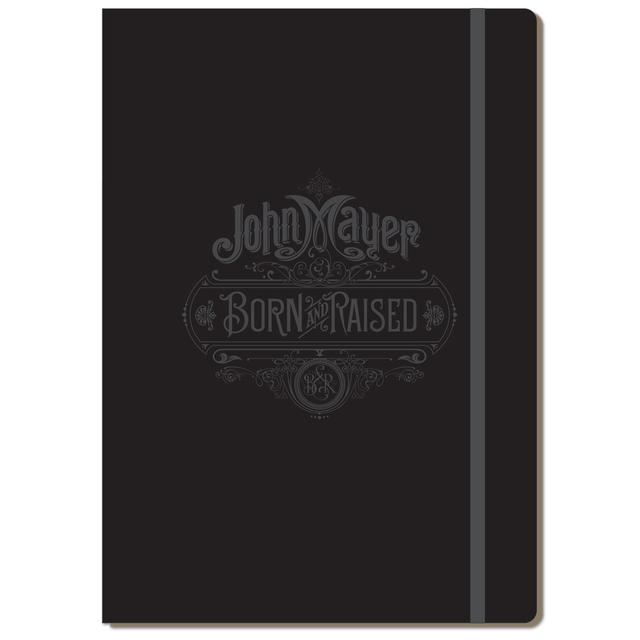 John Mayer Born and Raised A4 Folio Notebook by Moleskine