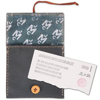 Barrett Alley X John Mayer Wallet - Green/Blue