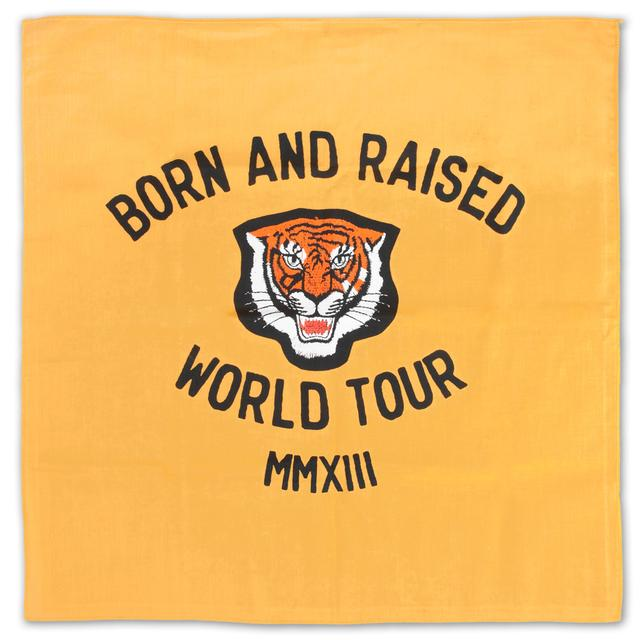 John Mayer Born and Raised Tiger Bandana