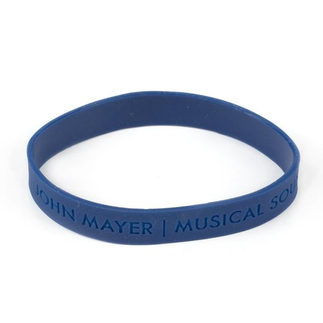 John Mayer Musical Sound Blue Silicone Wristband