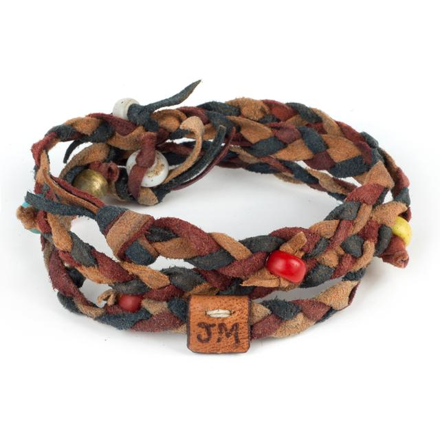 John Mayer Kipoto Bracelet in Cochineal and Indigo by Dacine