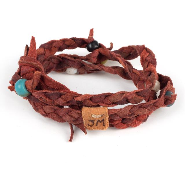 John Mayer Kipoto Bracelet in Cochineal by Dacine