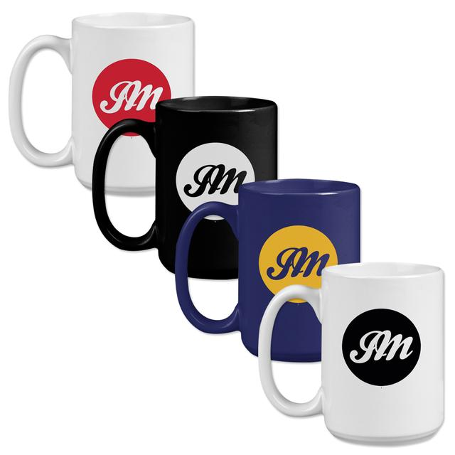 John Mayer JM Script Oversized Coffee Mugs