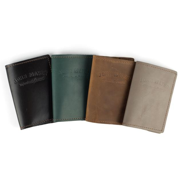 John Mayer Musical Sound Leather Passport Cover