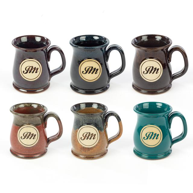 John Mayer JM Circle Script Stoneware Mug - Wide Mouth