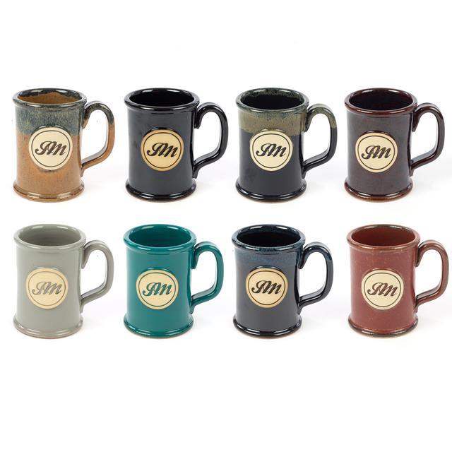 John Mayer JM Circle Script Stoneware Mug - Straight Shot