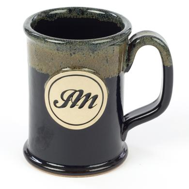 John Mayer JM Circle Script Stoneware Mug - Straight Shot