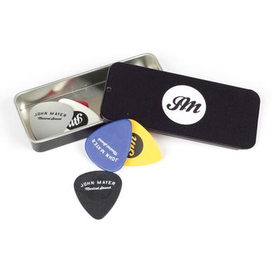 John Mayer JM Musical Sound Pick Tin