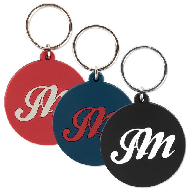 John Mayer JM Script Rubber Keychains