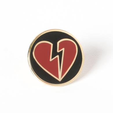John Mayer Heartbreak Logo Lapel Pin