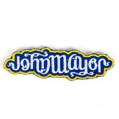 John Mayer Ambigram Patch