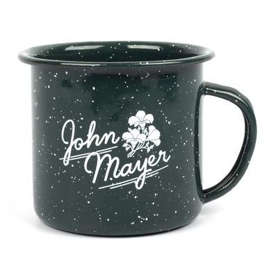 John Mayer Floral Enamel Mug