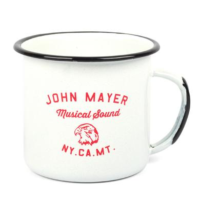 John Mayer Musical Sound Enamel Mug