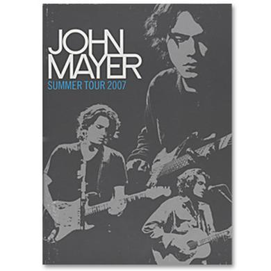 John Mayer 2007 Summer Tour Program