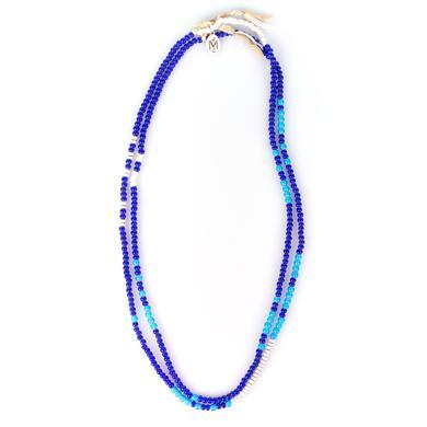 John Mayer Double Wrap Morse Necklace