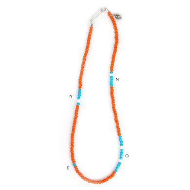 John Mayer Single Wrap Morse Necklace
