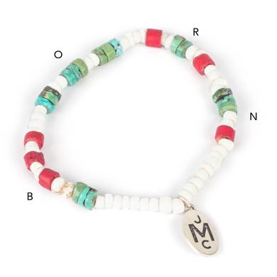 John Mayer Stretch Morse Bracelet