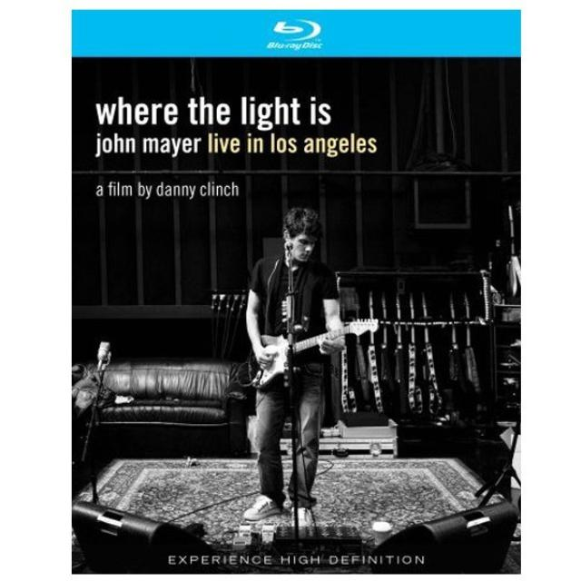John Mayer Where the Light Is Blu-ray Disc