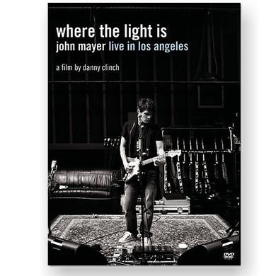 John Mayer Where the Light Is DVD
