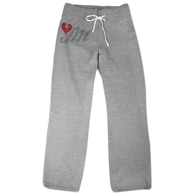 John Mayer Womens Grey Sweatpants