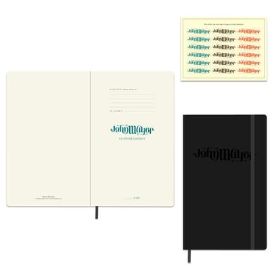 John Mayer Moleskine Ambigram Logo Notebook (Large, Hardcover)