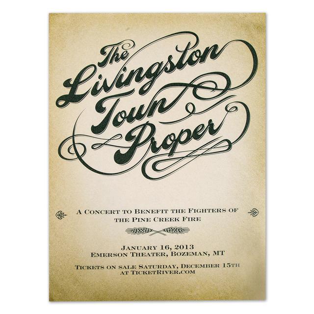 John Mayer JM The Livingston Town Proper 8x10